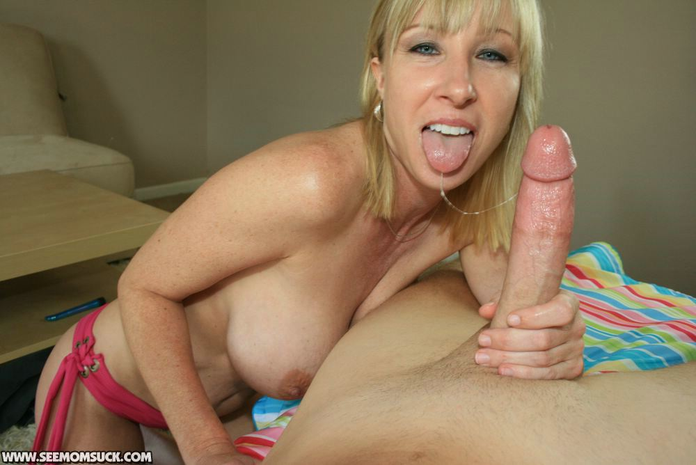 moms sucking big cocks Teen and milf  A naughty mature lady sucks and jerks Big cock / Ex-girlfriend.